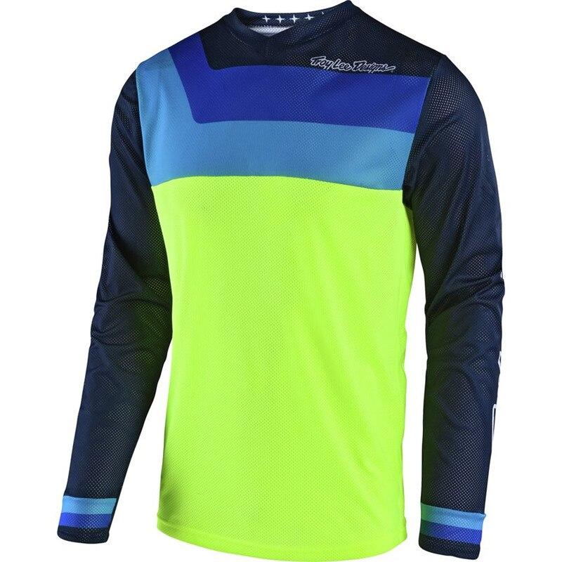 Free Shipping TLD bike DH BMX motocross jersey New product 2017 moto Jersey MX MTB Off Road Mountain Bike hot moto Jersey Motorb