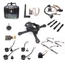 QAV-X 160mm 160 Fiber De Carbone Pur F3 Vol Contrôleur H1806 moteurs FS-I6 LittleBee 20A pro Matek PBD 4045 Pour RC Quadcopter