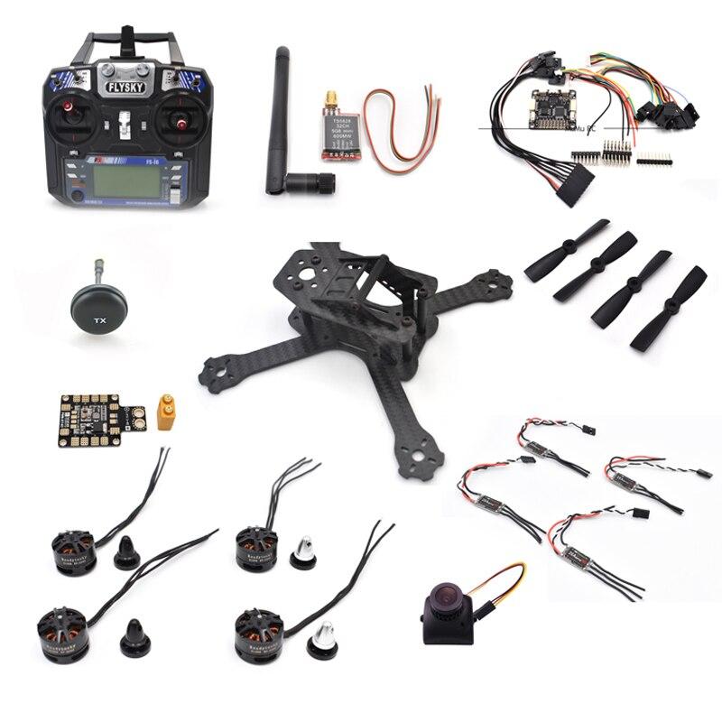 QAV-X 160mm 160 Pure Carbon Fiber F3 Flight Controller H1806 Motors LittleBee 20A pro Matek PBD 4045 For RC Quadcopter