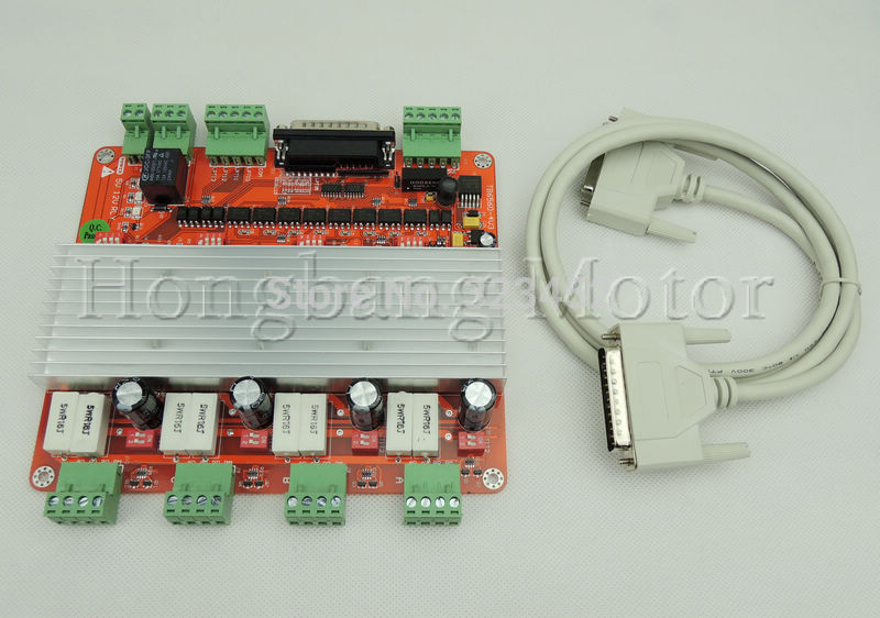 Free shipping quality assurance cnc 4 axis controller for Tb6560 stepper motor driver manual