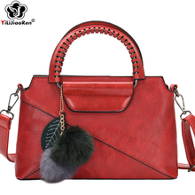 Fashion Fluff Tassels Women Handbag Large Capacity Women bag Ladies Hand Bags Brand Leather Crossbody Bags for Women Sac A Main
