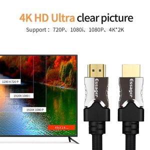 Image 2 - Essager Cavo HDMI HDMI a HDMI 2.0 Cavo 4K 1080P 3D Adattatore HDMI Per Il Proiettore PS4 HD TV del Computer portatile Del Computer 5m 10m 15m 20m Cavo
