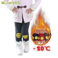 Hoge kwaliteit Winter Thicken Knit Warm Meisjes Leggings Kinderkleding Animal Print Fluwelen Katoen Kinderen Broek Wol Glimlach Pantalon
