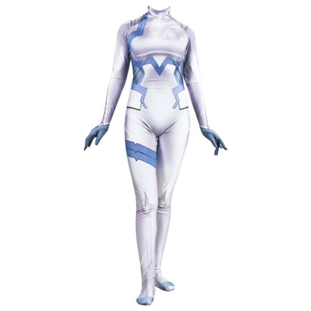 DARLING in the FRANXX ICHIGO Cosplay Costume Zentai Bodysuit Suit Jumpsuits Halloween Carnival Cosplay Costumes