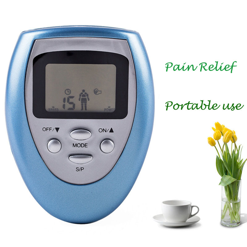 Free Shipping Portable fda Approved Tens unit with 4 pads,Professional Handheld fda Approved Tens KXS-07 it8712f s kxs