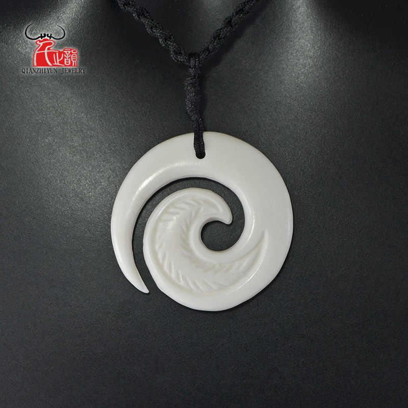 Gemstone /& Deerskin adjustable Choker-Pendant-Bolo style BuffaloCode original design 3 in 1 Custom \u2018Gillian\u2019 Pearl