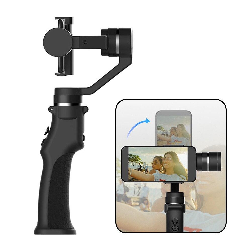 Cardan de stabilisateur cinématographique tenu dans la main de Roll3 Axis de 320 degrés avec la batterie pour le Smartphone - 2
