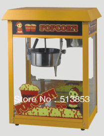Free Shipping,High quality Oz 8 luxury valley machine popcorn machine commercial corn machine belt roof
