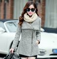 2016 Autumn Winter Coats Women Temperament Woolen Jackets Coats Female Casual Clothing Women Jackets Bodycon Coats Chaquetas