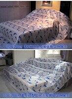 Mobiliário sofá cama colchas de capa de poeira tampa protetora contra poeira pano de Oxford à prova d' água