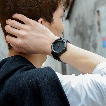 BOBO BIRD, relojes de madera de estilo Simple para hombre, relojes de pulsera de cuarzo, regalos para hombres, reloj de pulsera con logotipo personalizado de erkek kol saati