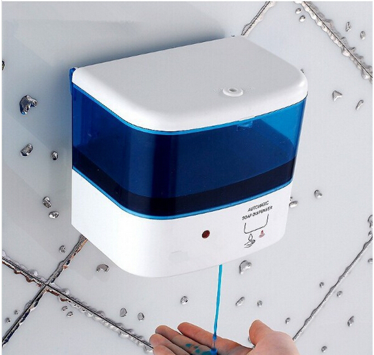 800 ml Automatic Sensor Liquid Soap Dispenser Base Wall Mounted ABS Touch-free Sanitizer foam Soap Dispenser 500ml wall mounted automatic hand sanitizer holder abs automatic sensor soap dispenser liquid shampoo gel dispenser