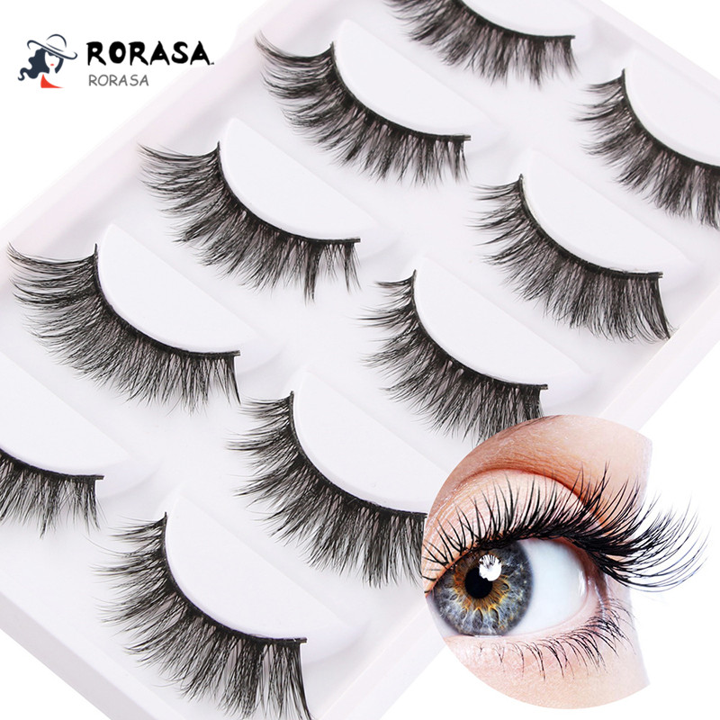 9a2562fdb0c Hot Mink Eyelashes 3D Mink Lashes Thick HandMade Full Strip Lashes Cruelty Mink  Lashes 5 Style False Eyelashes Freeshipping