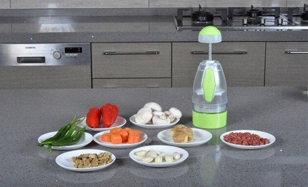 1 StÜck Multifunktionale Schredder Obst Gemüseschäler Knoblauchpresse Dicer Chopper Cutter Leicht Küche Werkzeug Ok 0317