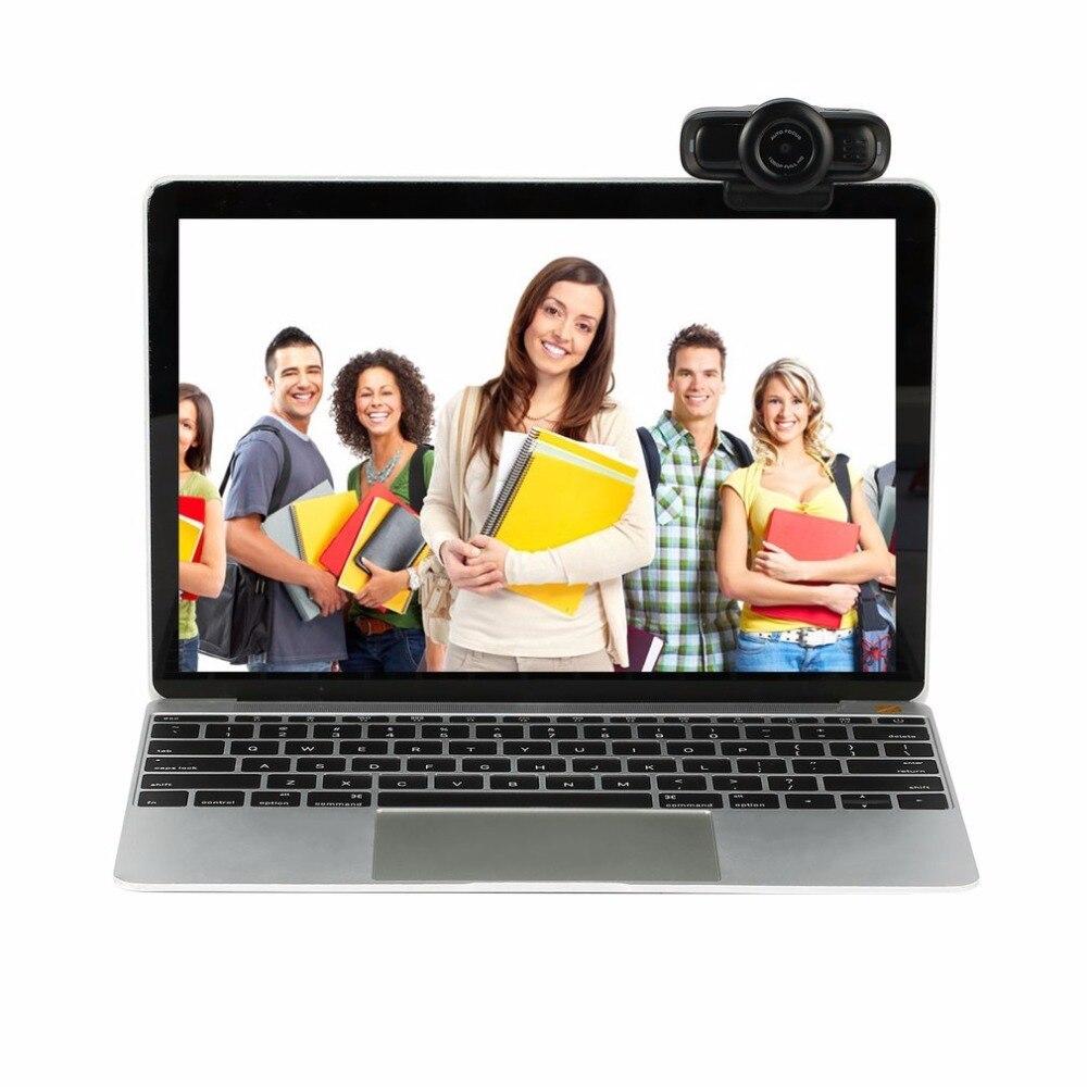 Автофокус веб-камера HD 1080 P цифровой компьютер Камера со встроенным Шум отмена микрофон для компьютера USB разъем