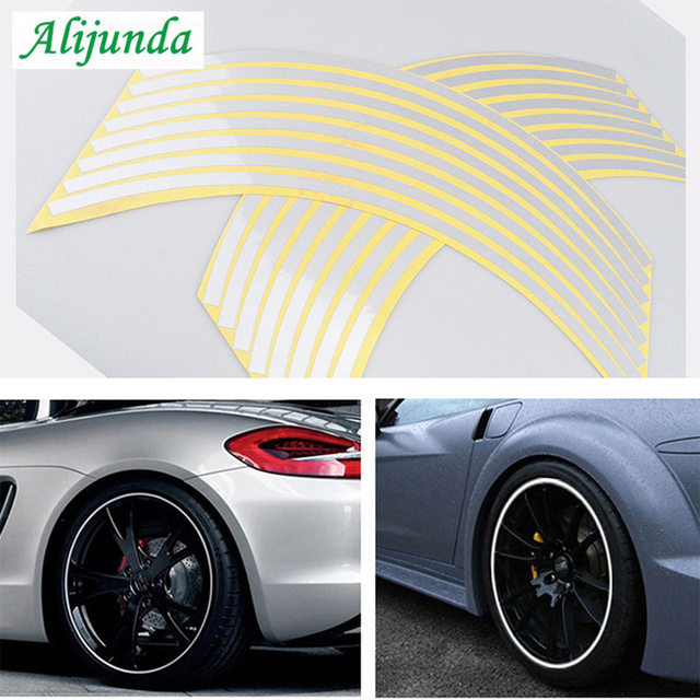 Car sticker 18 inch 5 color reflective motorcycle accessories FOR Geely Vision SC7 MK CK Cross Gleagle SC7 Englon SC3 SC5