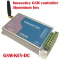 GSM-KEY-DC200 Aluminium box GSM controller SMS control box relay output controllerfor sliding gate and automatic door