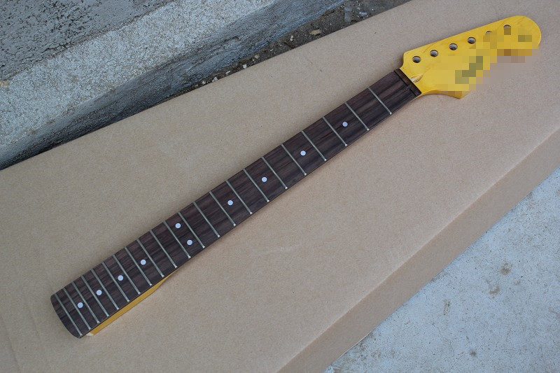 hot sale factory custom diy guitar neck maple neck rosewood finger board can be changed as. Black Bedroom Furniture Sets. Home Design Ideas