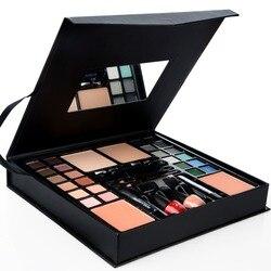 39pcs/set Colors Professional Make Up Palette Kit Eyeshadow Blusher Powder Metallic Shimmer Foundation Powder Makeup Set