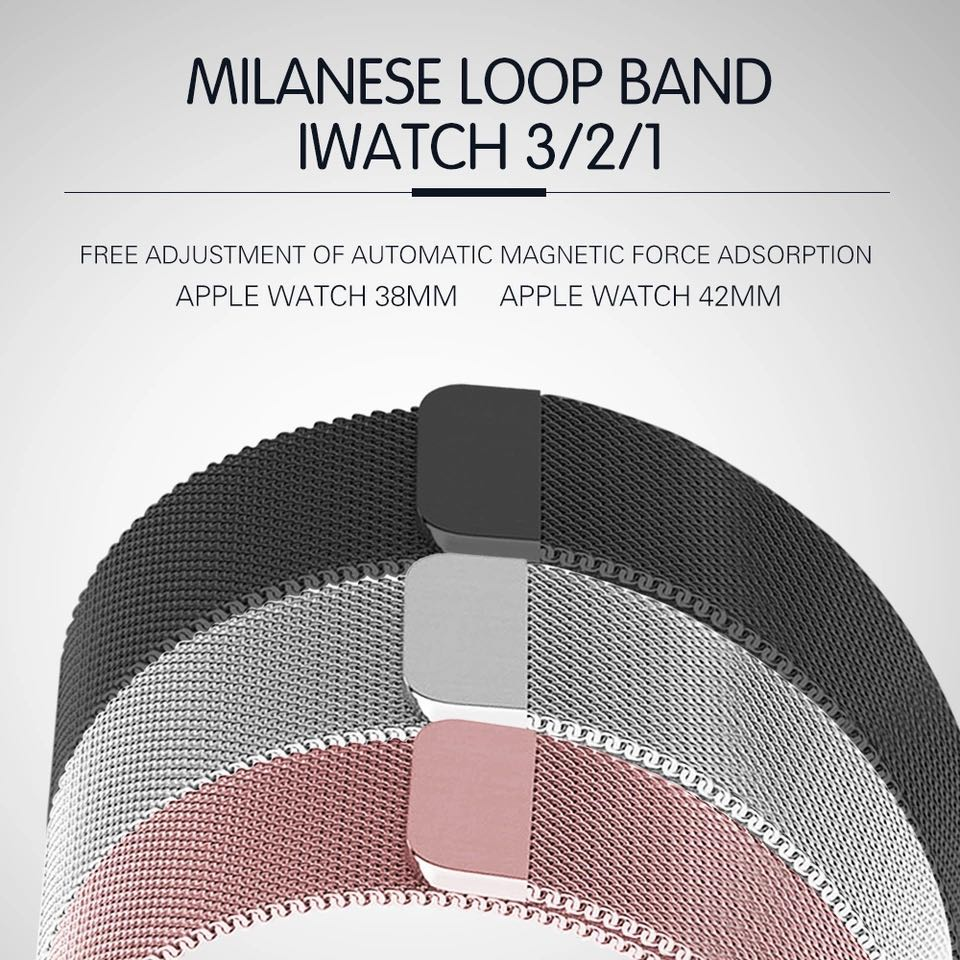 Joyozy Milanese Loop For Apple Watch band 42mm/38mm iwatch 3 2 1 Link Bracelet Stainless Steel Bracelet wrist watch band strap crested milanese loop strap for apple watch band 42mm 38mm stainless steel link bracelet wristband for iwatch 3 2 1 with case