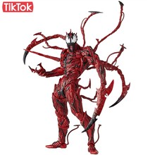 SpiderMan Carnificina Cletus Kasady 008 Veneno Dos Desenhos Animados Toy Action Figure Modelo Boneca de Presente(China)