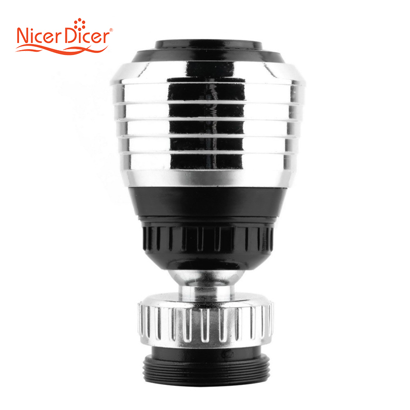 Water Saving Tap 360 Rotate Swivel Faucet Nozzle Filter Adapter  Aerator Diffuser Kitchen Accessories