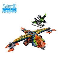LEPIN 14044 Aaron's X bow Nexo Nexus Knights Building Blocks Bricks Toys DIY For Children Compatible with INGly 72005