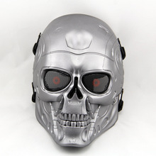 Full Face Wargame Tactical Sports Helmets Airsoft Paintball Halloween Party Cosplay Horror Gost Skull Hunting Military Masks