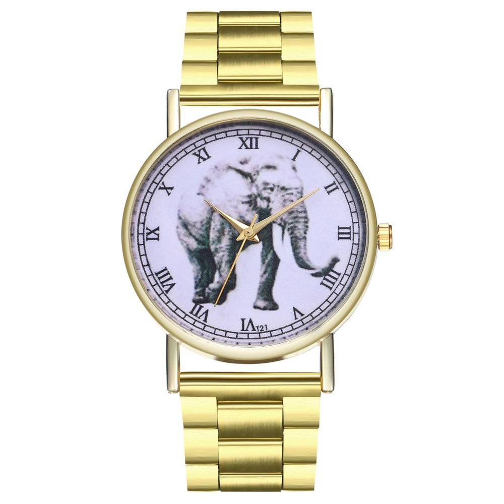 Bracelet Watches Clock Gifts Flower-Printed Quartz Reloj Mujer Causal Feminino