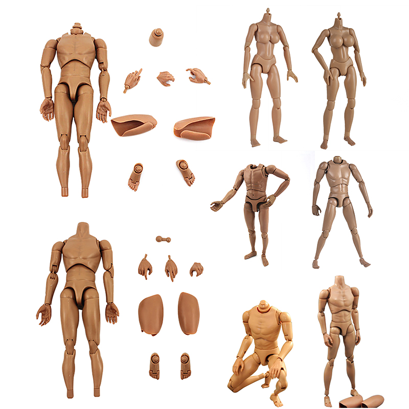 Anime Archetype He She Ferrite Figma Movable Japan BODY KUN BODY CHAN PVC Action Figure Model Toys Doll for Collectible