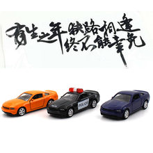 1:64 Alloy car model Ford Mustang Pocket toys for children(China)