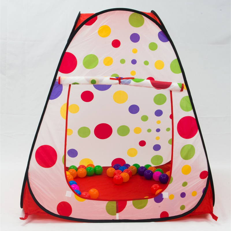 Portable Cute Children Kids Play Tents Game House Garden Folding Toy Tent Baby Playing House and Outdoor Camp Game Tents 985-Q34