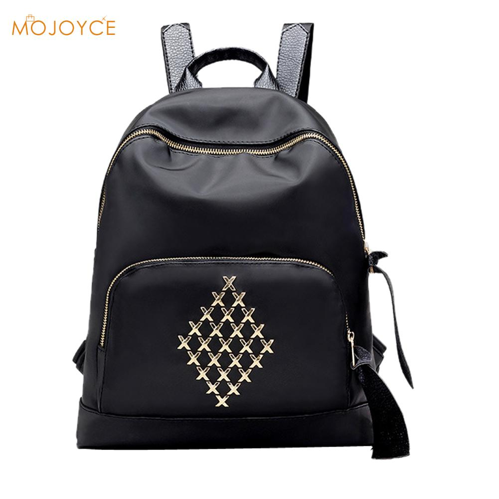 Brand 2017 Women Backpacks Waterproof Nylon Women s School Backpacks for Teenager Vintage Gilrs Female Casual