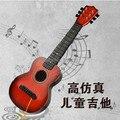 Seis niños guitarra Puede jugar el tipo Del bebé regalo de cumpleaños de la guitarra Instrumentos Musicales de Los Niños juguetes de sonido