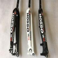 MOSSO מזלג פחמן MTB 26/27. 5/DH Downhill אופניים 29er אופני הרי מזלג קדמי מזלג נוקשה Bicicletas