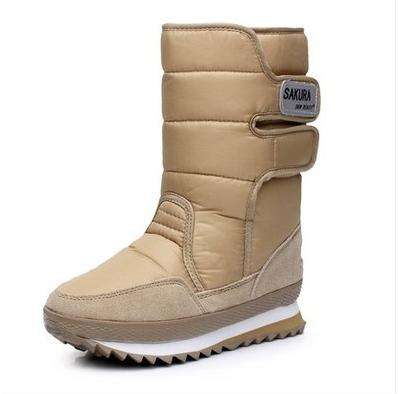 b5f9717ece77f Plus Big Size 44 Snow Boots Men And Women Slip-Resistant Snow Winter Boots