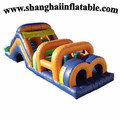 Factory sales 0.55mm PVC inflatable Obstacle Course inflatable indoor playground children playground