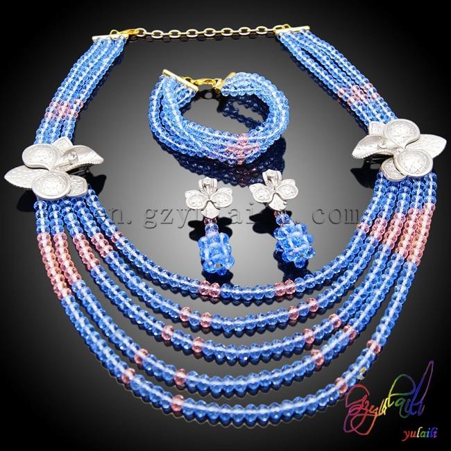 Yulaili Graceful Design Jewelry Set Women Find Beaded Jewelry SetYulaili Graceful Design Jewelry Set Women Find Beaded Jewelry Set