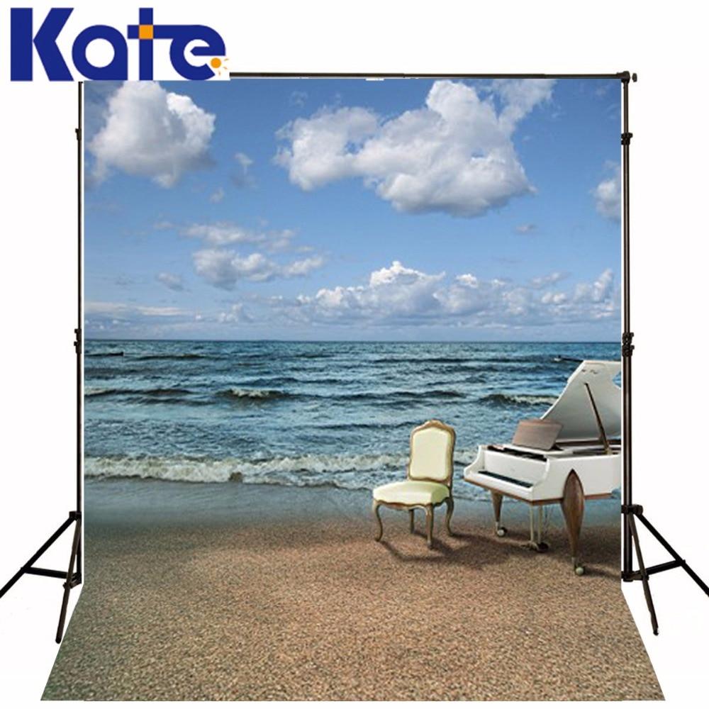 5Feet*6.5Feet Background Piano Romantic Seaside Photography Backdropsthick Cloth Photography Backdrop 3441 Lk cilek банкетка cilek romantic aks 3441