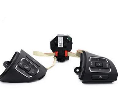 VW Golf MK6 Tiguan Passat B7L CC Multifunction Steering Wheel Button/Switch+Module 5C0 959 538 B+5C0 959 537 A+5K0 959 542