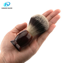 HAWARD RAZOR 100% Badger Hair Men's Shaving Brush Brown Handle Use For Double Edge Safety Razor Straight Edge Razor все цены