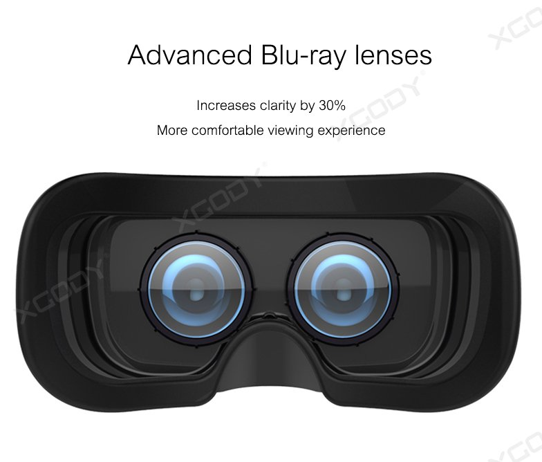 5.5inch HD 2560*1440P Android 5.1 VR case all in one 3D glasses CPU Actions S900,Quad Core VR All in One with 2K Resolution
