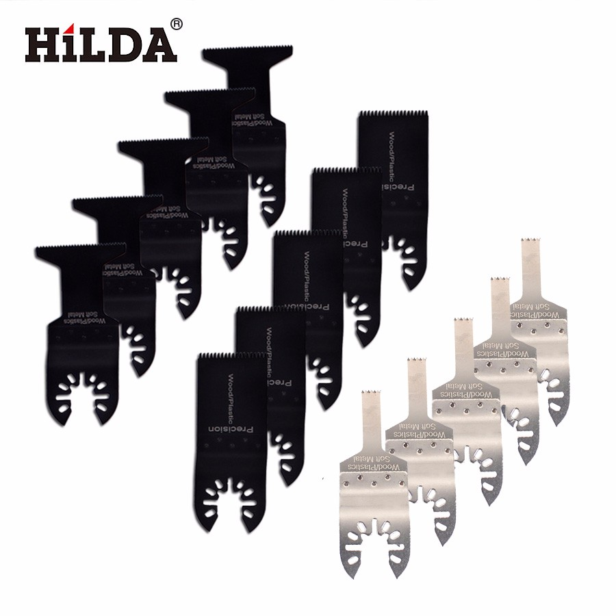 цена на HILDA 15 pcs/set Oscillating Tool Saw Blades Accessories fit for Multimaster power tools as Fein, Dremel etc, FREE SHIPPING