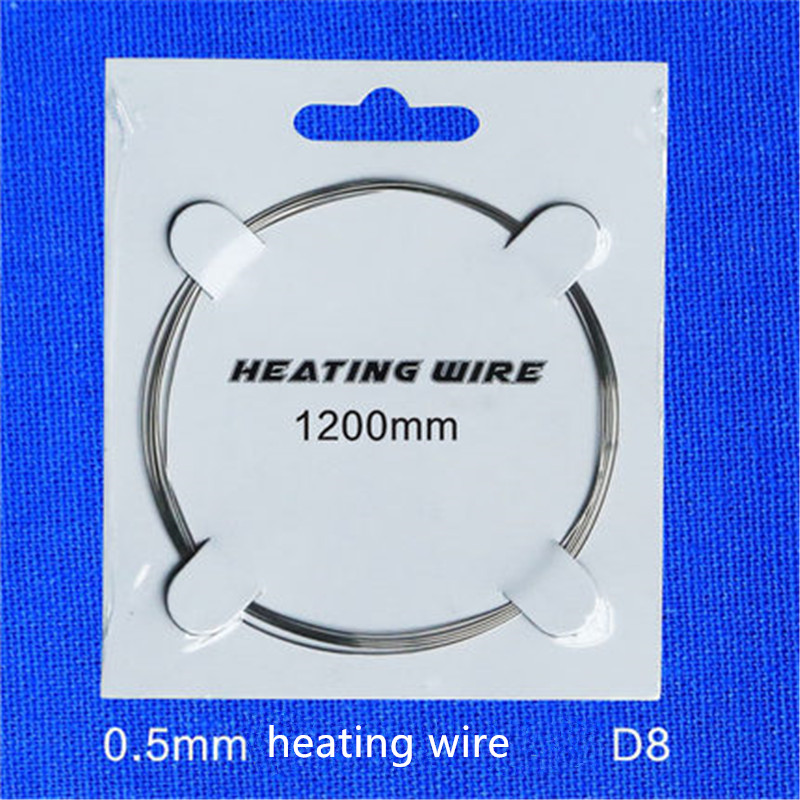 heating wire Nichrome wire Alloy wire for Foam Cutter Hot Wire Cutting 20m 0.5mm