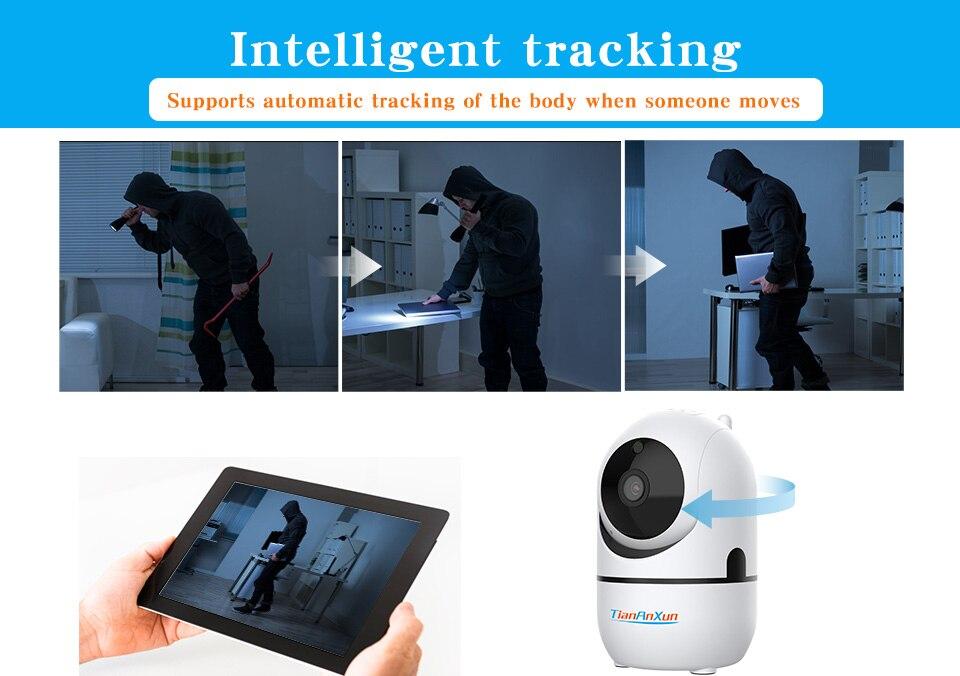 sem fio rastreamento automático wi-fi cctv câmeras vigilância