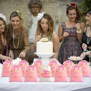 Image 5 - OurWarm 11pcs כלה מקלחת לטובת תיק אורח מתנות מסיבת רווקות מסיבת טובות שקיות שושבינה מתנת חתונת דקור