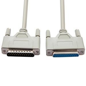 Image 3 - 25Pin DB25 Paralel Erkek Kadın LPT Yazıcı DB25 M F Kablo 1.5M Bilgisayar Kablosu Yazıcı Uzatma Kablosu 25 Pin LPT