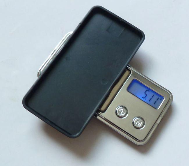 """mažiausios pasaulyje elektroninės """"Mini Pocket"""" svarstyklės - - Matavimo prietaisai - Nuotrauka 3"""