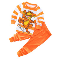 New Pajamas For Children Sleep Pants Baby Underwear Kids Sets Clothes For Girl Boy Cartoon Cotton