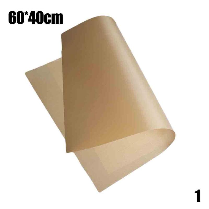 60*40/30*40cm Pastry Baking Oilpaper Mat Oilcloth Non-stick High Temperature Resistant Fabric Cloth Oven Oil Paper
